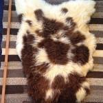 14-138-3 Jacob lambskin, fleece side, $140