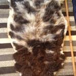 14-559-3 Jacob sheepskin fleece side $75
