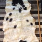 14-196-1 Jacob sheepskin fleece side $ 65
